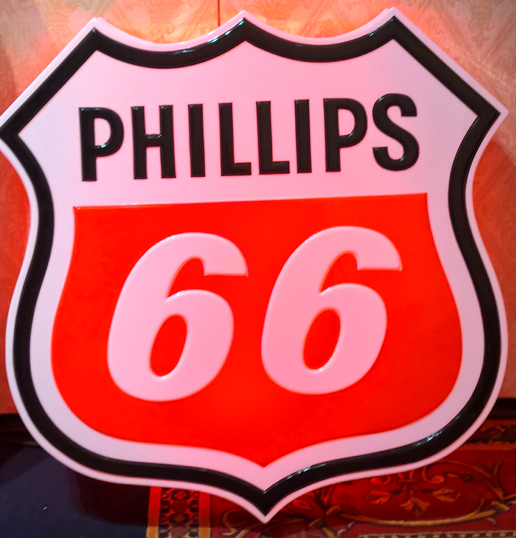 New Phillips 66 sign for our retailers